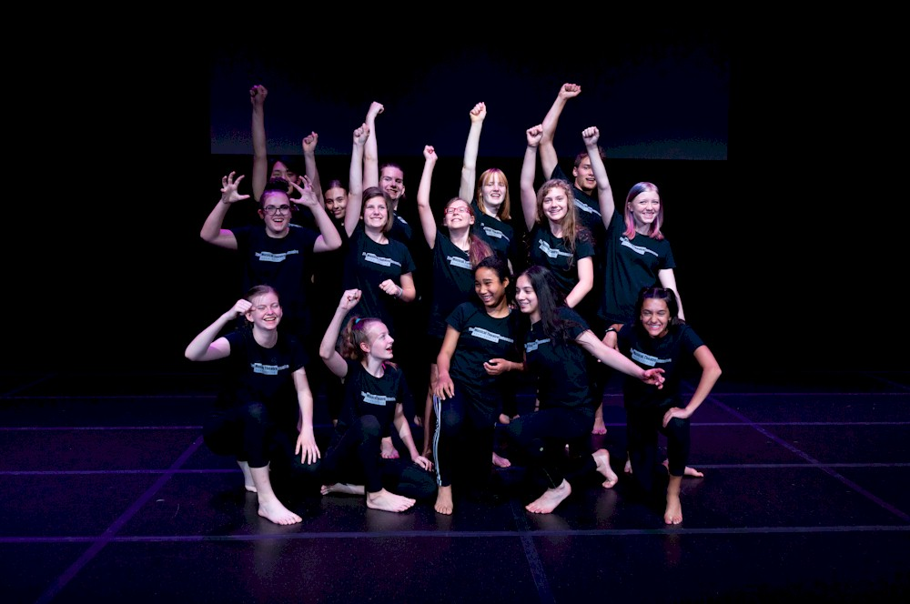 Musical Theatre Intensive group - Photo by Moonrider Productions