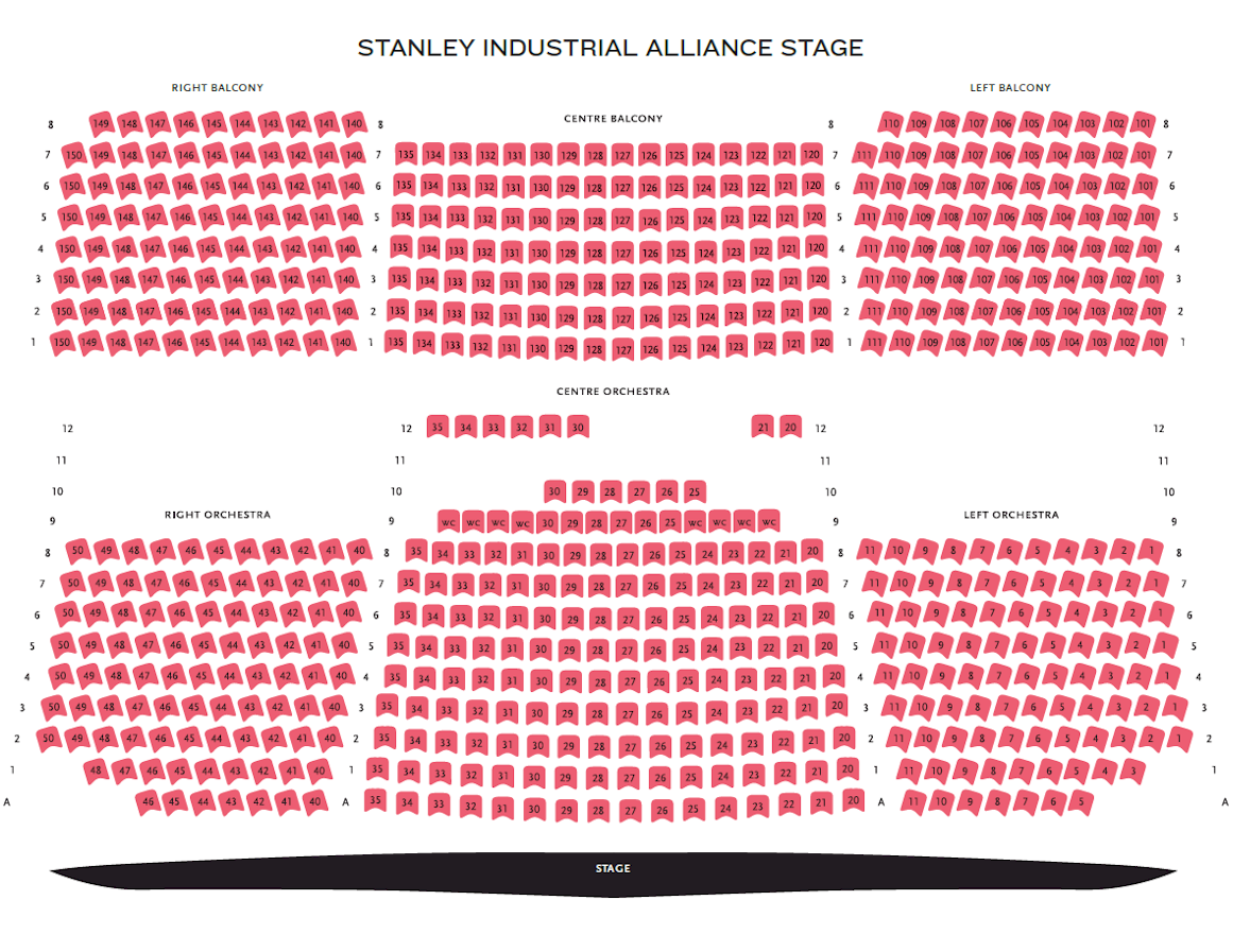 Vogue Theatre Seating Chart Owasso Community Theater